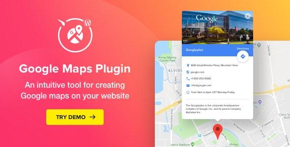 Elements wordpress google maps plugin