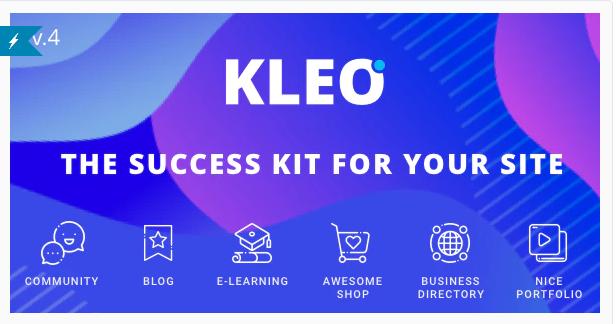 Kleo Multi-Purpose BuddyPress Wordpress Theme