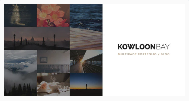 KowloonBay Portfolio Blog Wordpress Theme