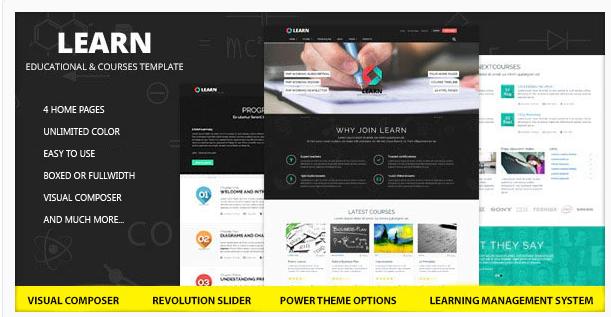Learn Elarning Education Wordpress Theme