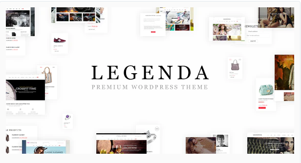 Legenda Multipurposw Wordpress Theme