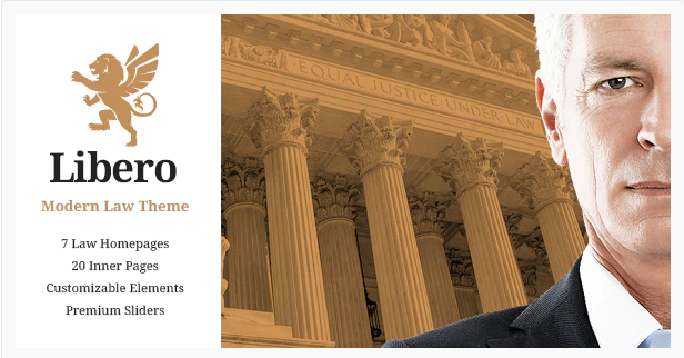 Libero lawyer WordPress theme