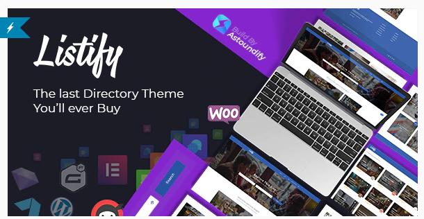 Listifyi Wordpress Directory Theme