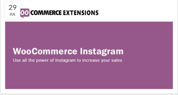 WooCommerce Instagram Plugin