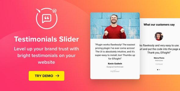 Testimonials Slider WordPress Plugin