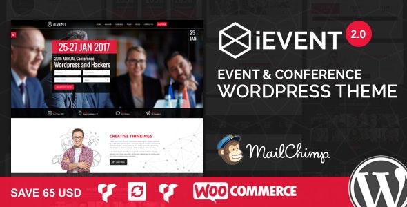 Event Conference Wordpress Theme