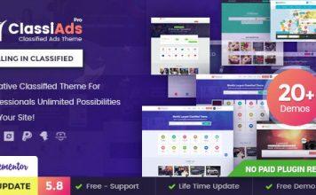 Classified Ads WordPress Theme free download