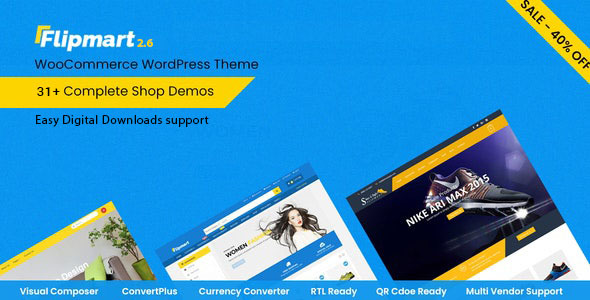 Flipmart Responsive Ecommerce WordPress