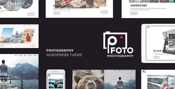 Foto Photography WordPress Themes Photographers