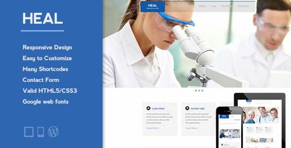 Heal Medical Wordpress Theme