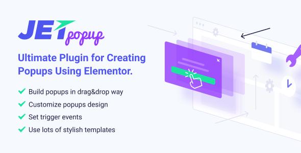 JetPopup Stylish Popup builder Elementor