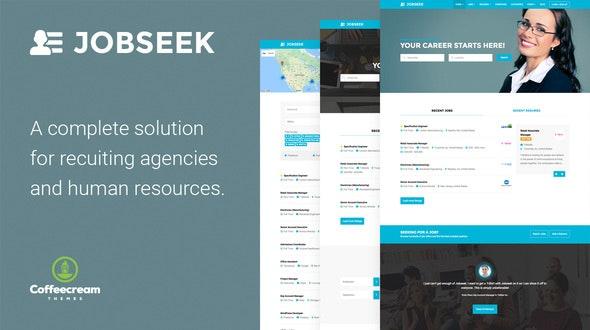 Job Seek Job Board Wordpress Theme Free download