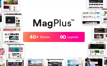 MagPlus Blog Magazine Elementor WordPress Theme