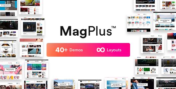 MagPlus Blog Magazine Elementor WordPress Theme