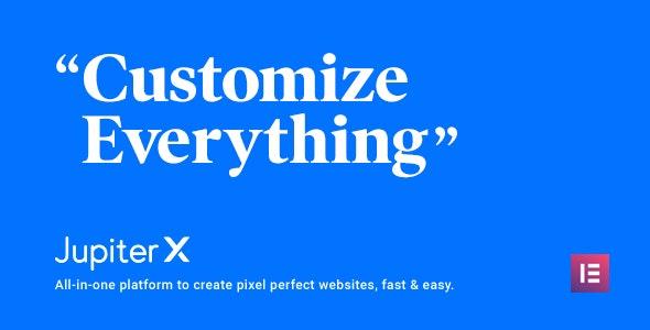 Jupiter Multipurpose Wordpress Theme