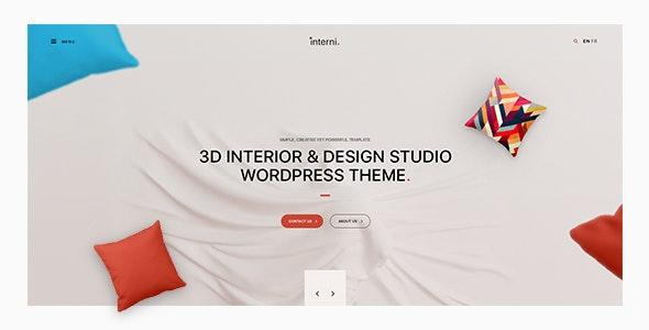 Interni Design Studio Wordpres Theme