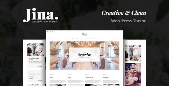Jina Celebration Agency Wordpress Theme