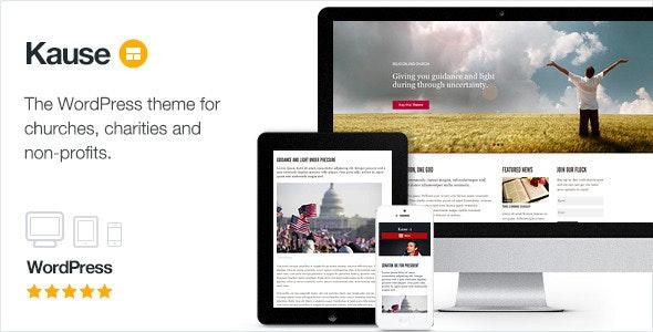 Kause Multi-purpose Wordpress Theme