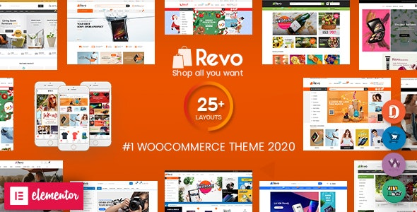 Revo Multipurpose WooCommerce WordPress Theme Download