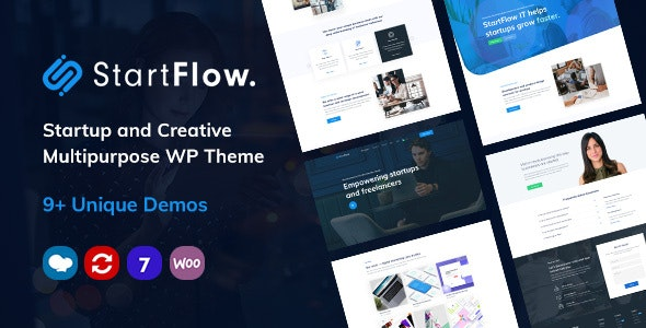 startflow wordpress theme free download