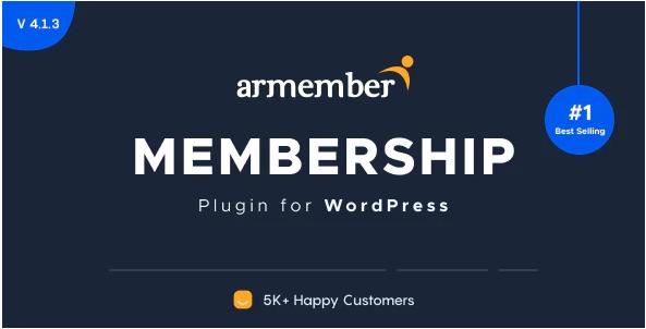 ARMember - WordPress Membership Plugin v4.1