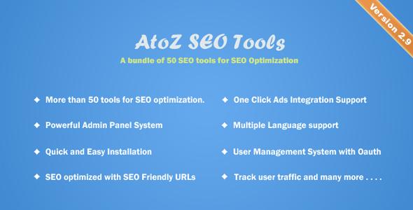 AtoZ SEO Search Engine Optimization Tools