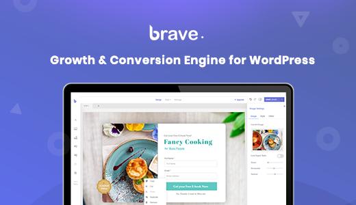 Brave Popup Builder pro WordPress plugin