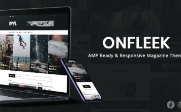 Onfleek News Template WordPress