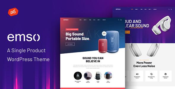 Emso Single Product Wordpress Theme